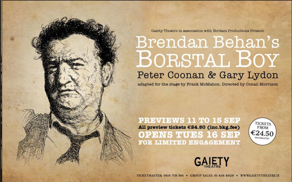 Borstal Boy at The Gaiety Theatre