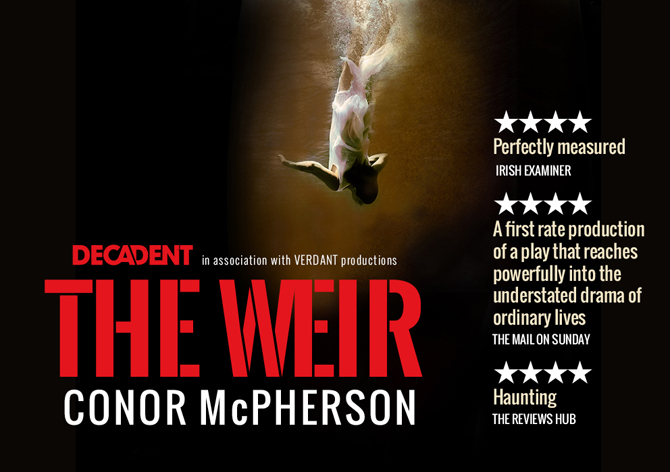 The Weir by Conor McPherson at The Gaiety Theatre, Dublin