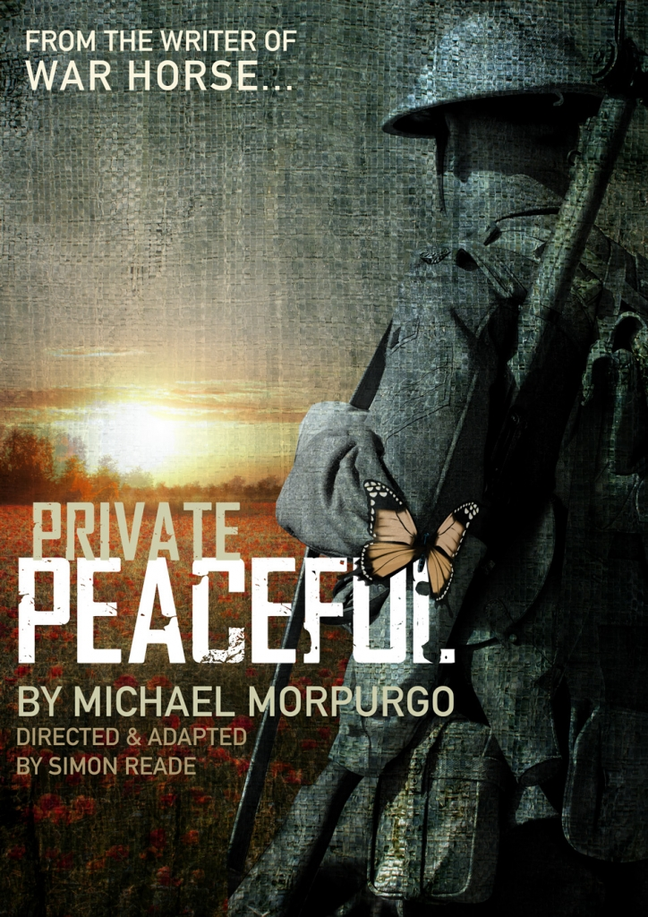 Following on from the worldwide success of Michael Morpurgo's best selling book, film and stage play War Horse, Simon Reade adapts and directs a stage version of Morpurgo's award-winning book, Private Peaceful.