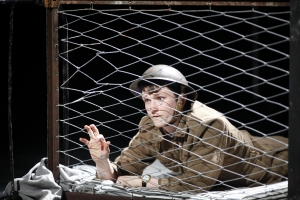 Shane O'Regan as Tommo in Private Peaceful by Michael Morpurgo Photo by Tom Lawlor Verdant Productions